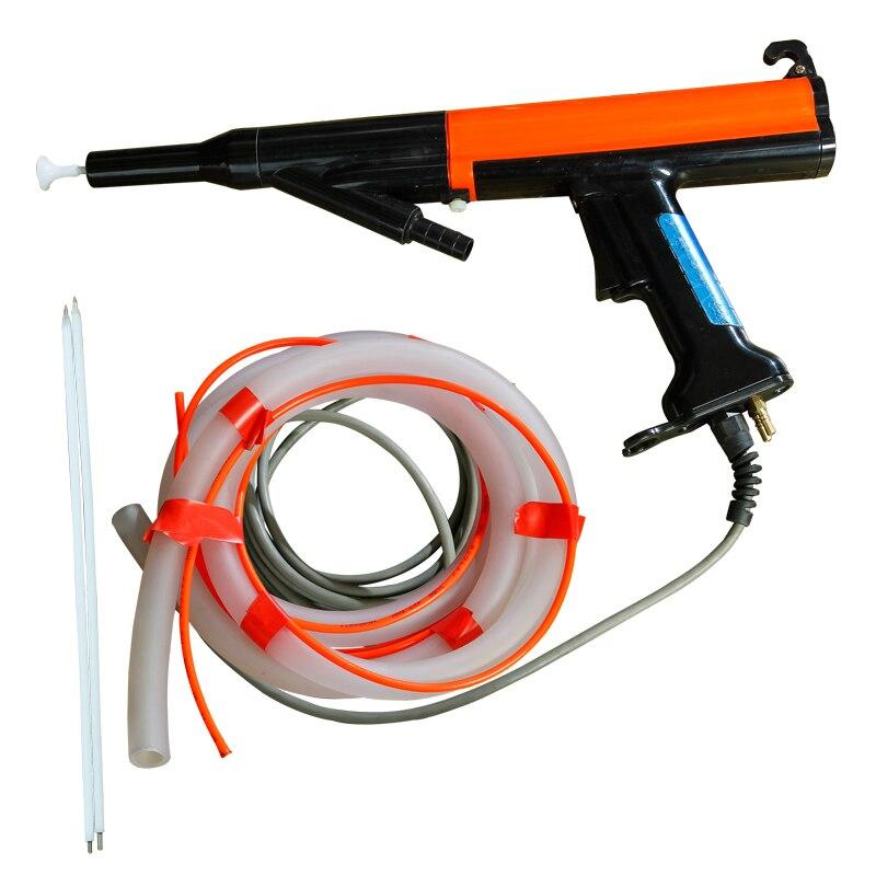 Electrostatic spraying machine  Red Nordson powder manual spray gun built-in high-voltage negative ion spray gun accessories enlarge