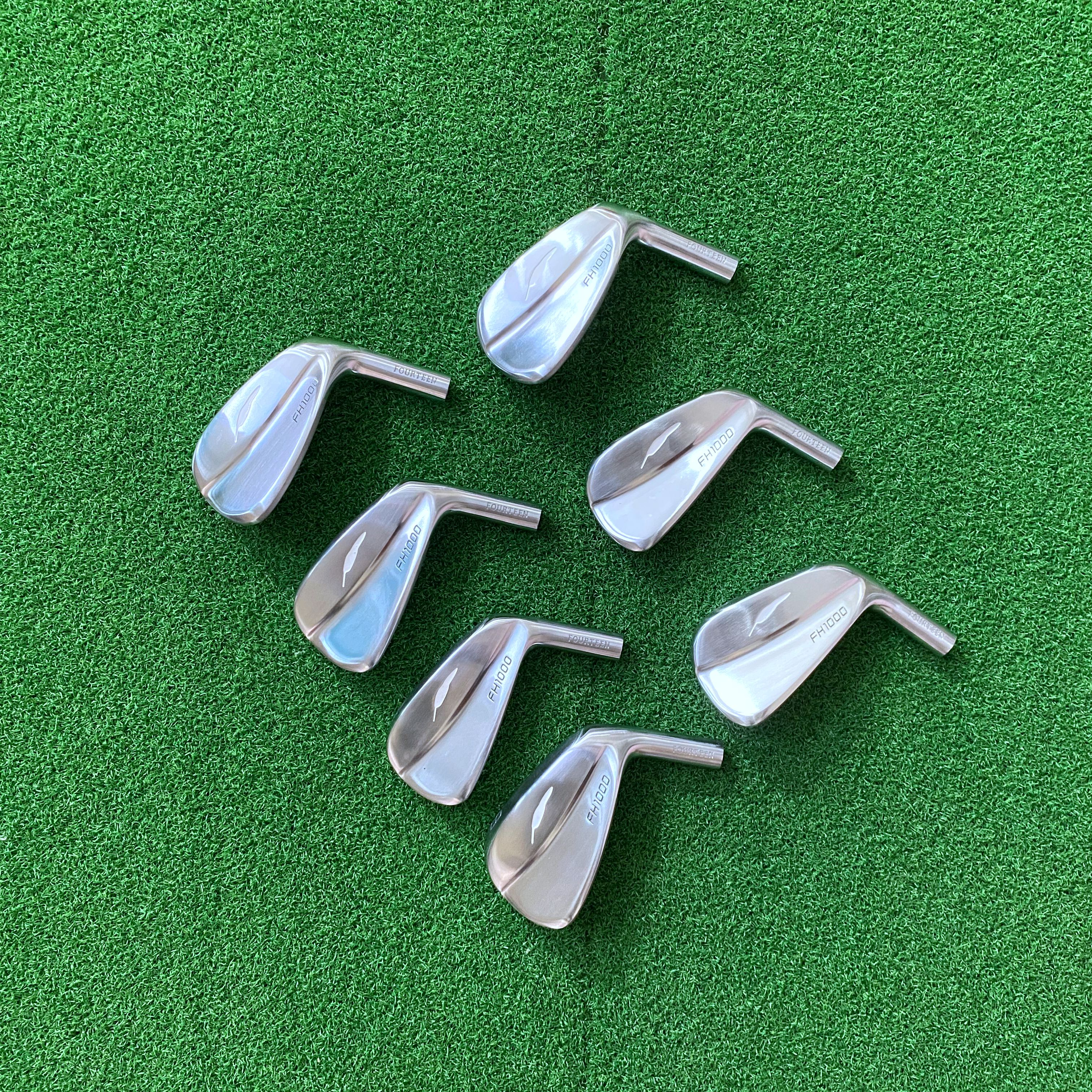 Golf Clubs Irons Head Fourteen FH1000 No Shaft Free Shipping Soft Iron Forged 4-P 7Pcs