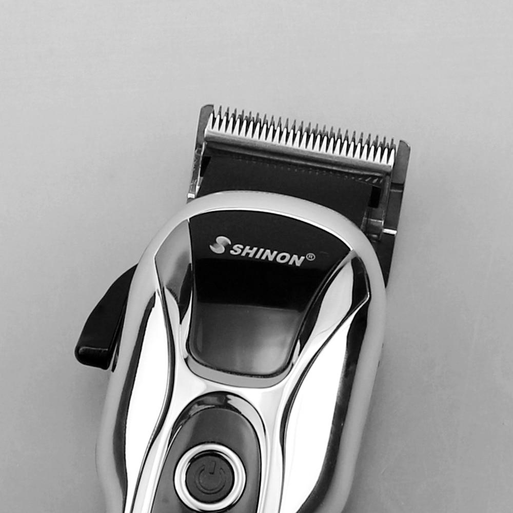 cord/cordless professional hair clipper electric hair trimmer for man hair cutter pro hair cutting machine haircut barber tool enlarge