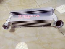 Intercooler dla bmw 325d 330d 335d 335 diesel coupe E90 E91 E92 E93 Intercooler wymiennik powietrza bar i płyta przepływu 550bhp srebrny