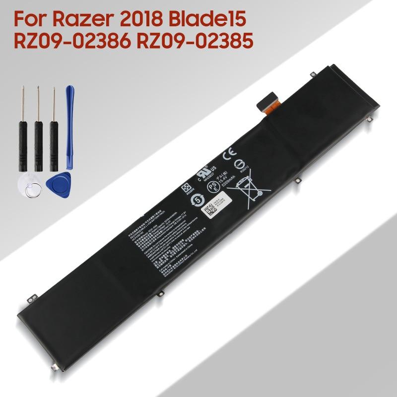 original 15 2v 76wh original battery for tdw5p series laptop Original Replacement Laptop Battery RC30-0248 RZ09-0288 For Razer 2018 Blade15 RZ09-02386 RZ09-02385 Laptop Battery 5209mAh