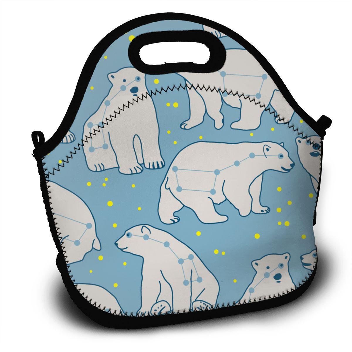 2020 новая сумка для обеда Урса незначительная полярная Медвежонок изоляция