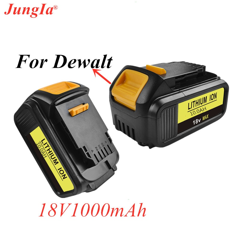 Batería recargable 18V 10000mAh DCB180 para DEWALT DCB180,DCB181 XJ DCB200,DCB201,DCB201-2,DCB204,DCB20 DCB182