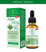 Aloe essência facial poro encolhimento reparação hidratante melhor venda produtos loção cuidados com a pele anti-envelhecimento soro facial controle de óleo