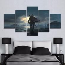 HD fantasy art wall picture Jango Fett view Star Wars the mandalorian movie poster artwork canvas paintings wall ar thome decor