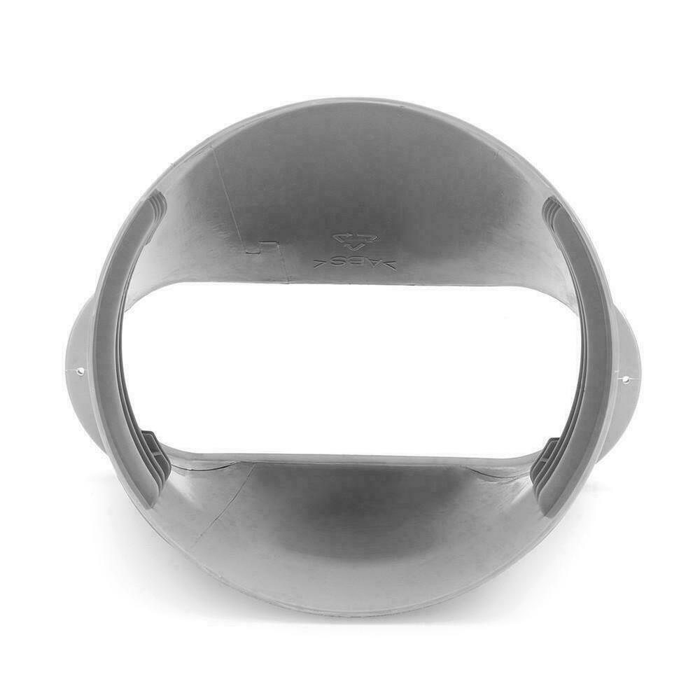 Conector de tubo adaptador de ventana para aire acondicionado portátil Kit de manguera de escape conector de manguera de escape de placa