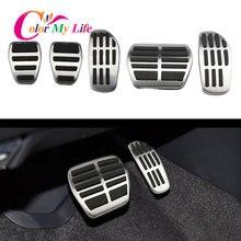 Автомобильные педали для топлива и газа Color My Life, педаль тормоза для Nissan X-trail Xtrail T32 Rogue 2014 - 2020 Qashqai J11 2015- 2020