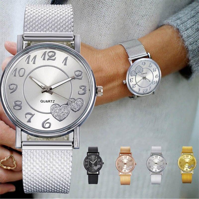 часы женские часы женские наручные женские кварцевые часы Женские часы 2021, женские часы, модные, простые, повседневные, с цифровым циферблат...