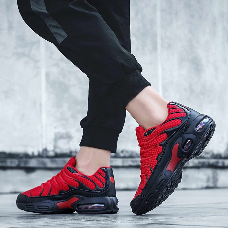 RUNSUN DAILY Mens Sneakers Fashion Air Cushion Running Shoes Reathable Casual Multi-sports Tennis Shoes for Men