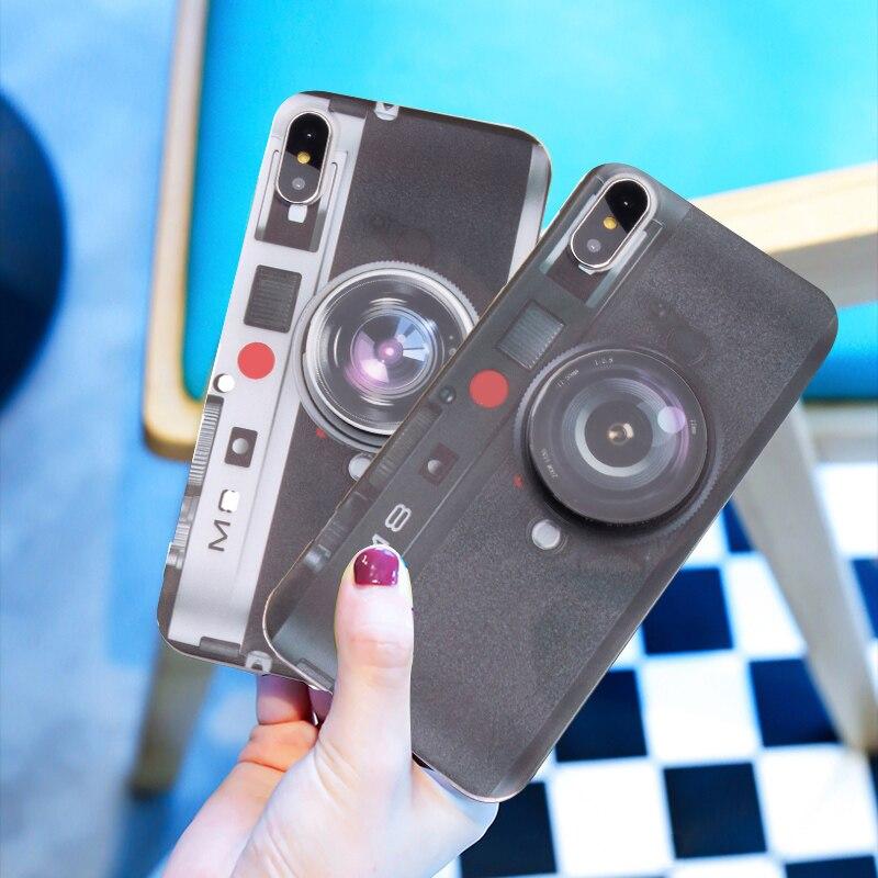 Para Doogee X5 Max Pro X6 X6S X6 Pro X50 X50L X55 X60 X70 móvil de silicona de moda Cámara maletín de teléfono a prueba de golpes a prueba