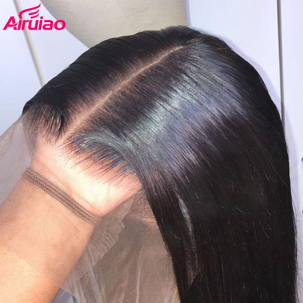 13X6 peluca con malla Frontal 250 densidad recta 360 Frontal pelucas de cabello humano transparente Invisible falso cuero cabelludo brasileño Remy Pre desplumado