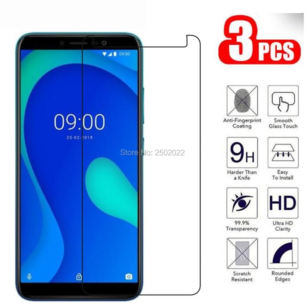 3Pcs Glass Cover For Wiko y80 Tempered Glass 9H Premium Mobile Phone Screen Protector For Wiko Y80 Y