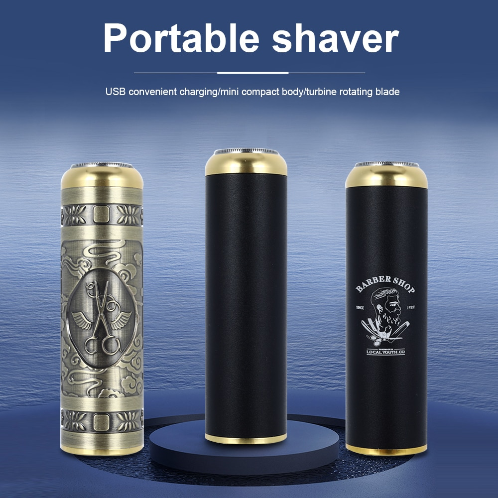 2021 barbeador eletrico usb recarregavel barba maquina de barbear trimmer para homens