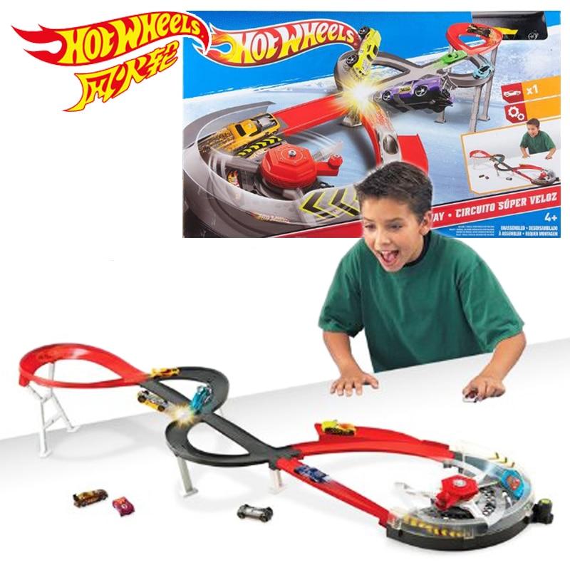 Hot Wheels Round Toys Модель игрушечных автомобилей классический литой 1:18 игрушечный