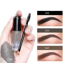 Long-lasting Eyebrow Cream Natural Liuqid Eyebrow Gel Tattoo Makeup Eye Brow Tint Brows Pigment Black Eyebrow Enhancer