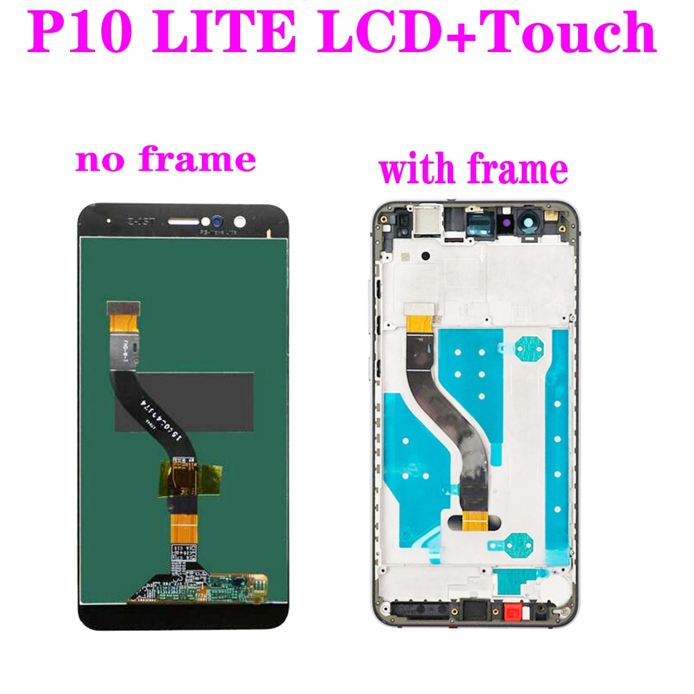 5 Pieces Original LCD for Huawei P10 lite LCD Display Touch Screen Digitizer Assembly for P10 Lite WAS-LX1 WAS-LX2 WAS-LX1A enlarge