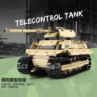 mould king rc truck 2 4ghz rc tank remote control military car model building blocks city bricks technic educational kids toys