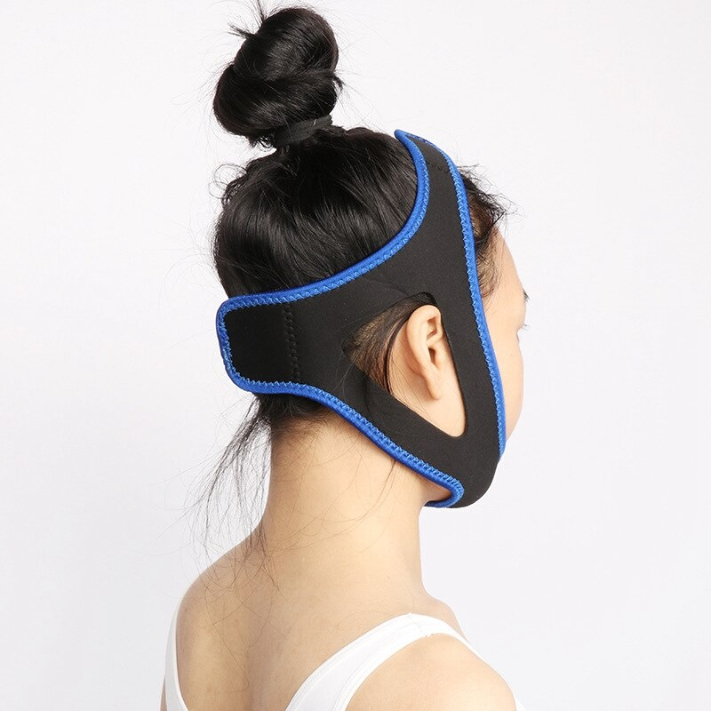 Cinturón para la barbilla ayuda al sueño para hombres y mujeres y le da el mejor anulador de ronquidos