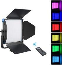 Sokani X50 panneau Led RGB lumière vidéo avec télécommande, éclairage de photographie 50W pour studio de photographie Tiktok en direct Youtube