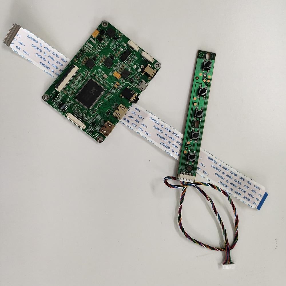 Kit para b156han02.2 hw0a micro 2 hdmi display edp painel de tela led monitor mini lcd 1920x1080 placa controlador