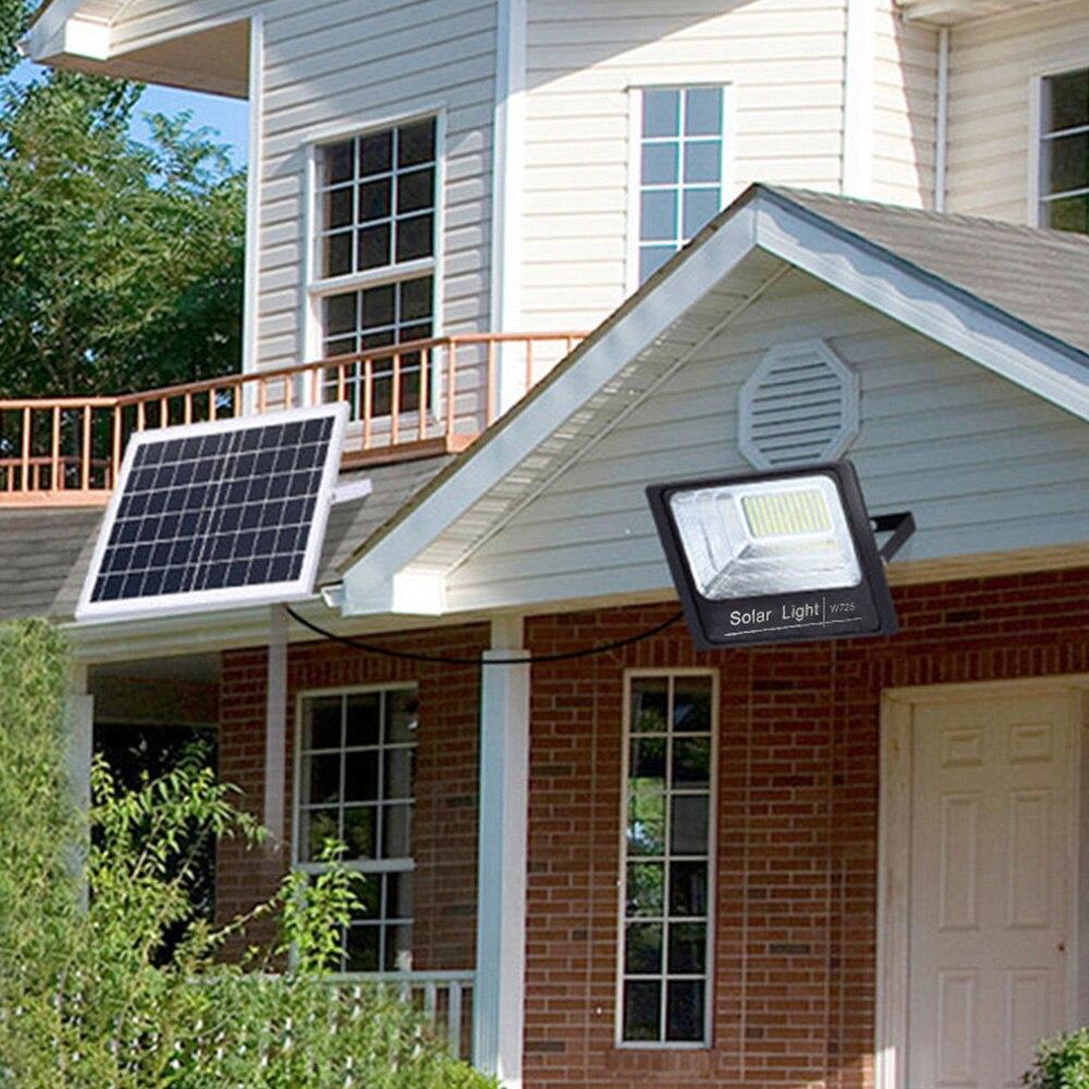 Solar light outdoor garden light super bright human body induction flood light home indoor and outdoor lighting street light NEW enlarge