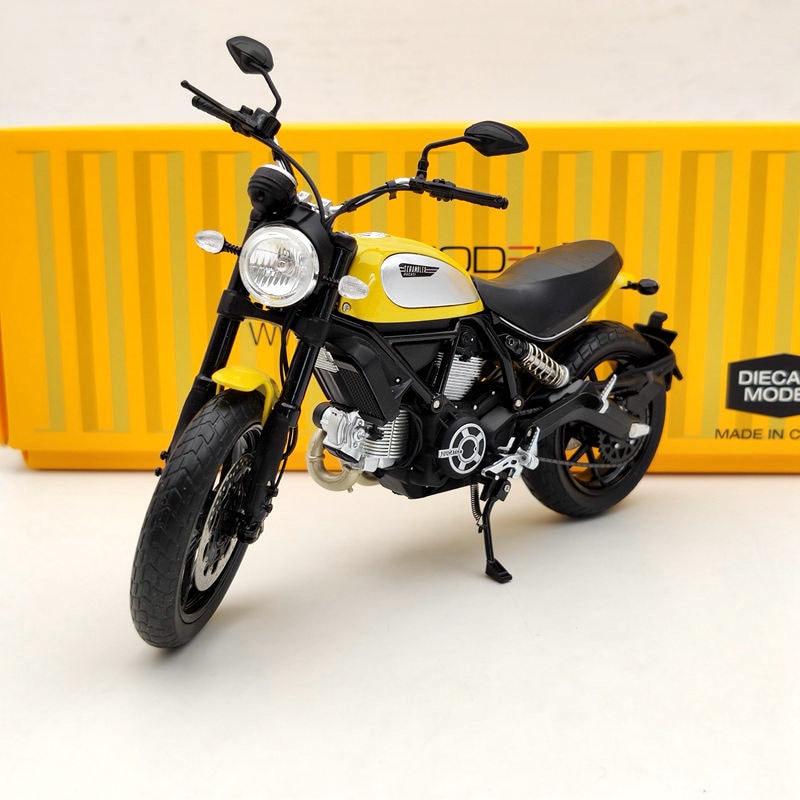 TSM 1/12 لموديلات الدراجات النارية D ~ cati Scrambler Icon 803CC 2015 Rosso TSMMC003