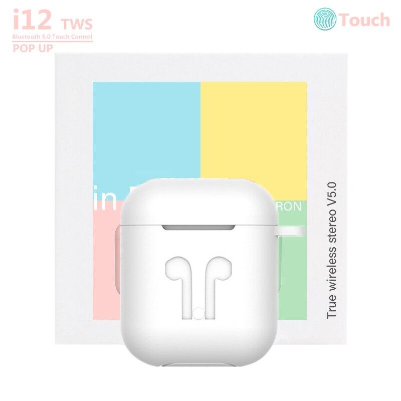 Macaron i12 TWS Bluetooth auriculares inalámbricos Original inpods i12 auriculares sonido supergrave pk i9s i10 i11 TWS