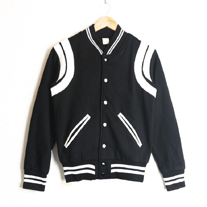 Куртка мужская бейсбольная контрастных цветов, повседневная униформа, молодежная уличная одежда в Корейском стиле, одежда в ретро стиле, ве...