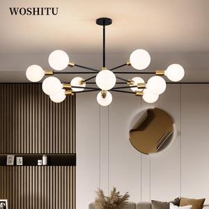 LED Ceiling Chandelier for Lighting Living Room Bedroom Molecular Pendant Multiple Lights Creative Home Lighting Fixtures