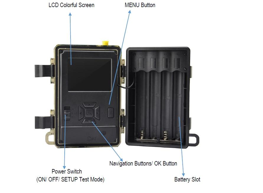 S312  4G SIM Trail Camera Cloud Service 4G Cellular Wildlife Hunting Cameras Wireless Surveillance shipping with free SIM card