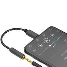 Type-C to 3.5mm Digital Decoding Audio Adapter Cable Dac4050hifi Headphone Amplifier Adapter