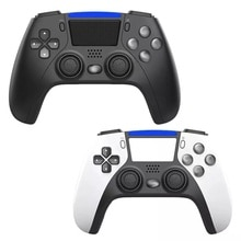 Wireless Bluetooth Dual 4 Game Controller Support 6-Axis Pressure Sensors Gamepad With Speaker For P