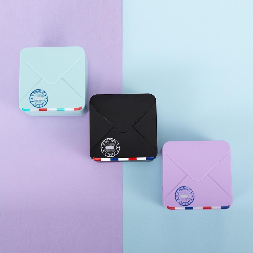 Phomemo M02S الطباعة الحرارية بدون حبر طابعة الجيب اللاسلكية 300 ديسيبل متوحد الخواص متوافق بلوتوث الصور الحرارية لتقوم بها بنفسك ل iOS أندرويد