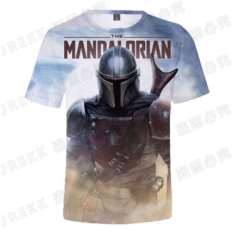 AliExpress - Star Wars The Mandalorian T Shirt Men Women Children Cool Baby Yoda Shirt Summer Short Sleeve Streetwear Boy Girl Kids Tops Tee