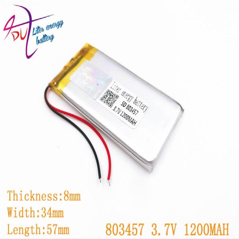 Nueva llegada Mp3/Mp4 jugador Bateria Yi personalizar pequeño recargable Li Po 803457...