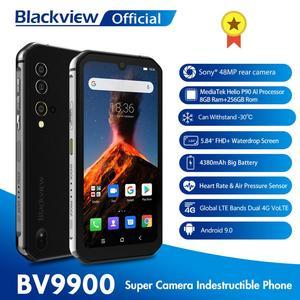 Смартфон Blackview BV9900 8 Гб + 256 ГБ, в комплекте смарт-часы