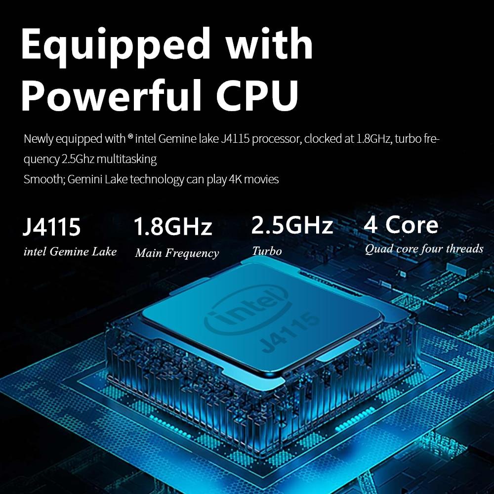 KUU XBOOK 14.1 Inch 8GB DDR4 RAM 128G 256G SSD Windows 10 laptop Intel J4115 Quad core Keyboard Student Notebook