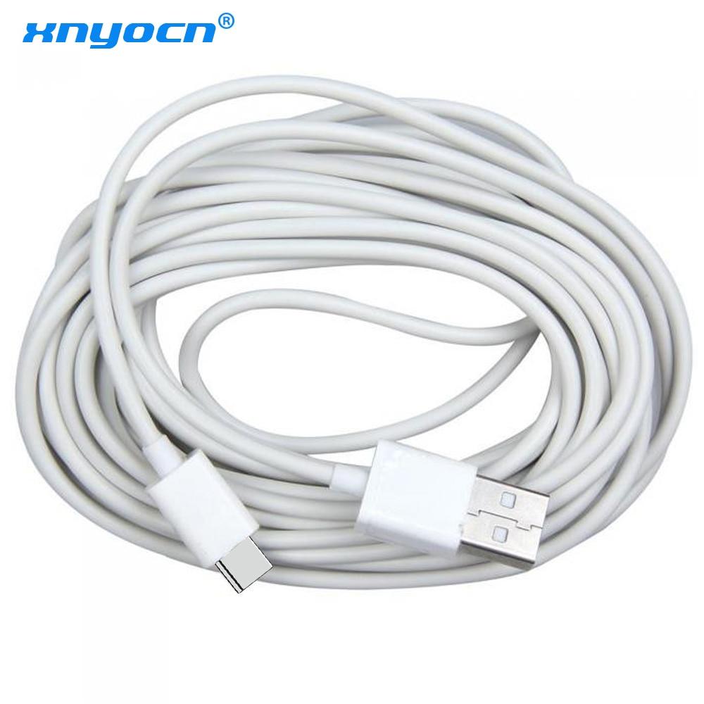 Xnyocn-Cable USB tipo C de 5M de largo, USB-C de carga rápida...