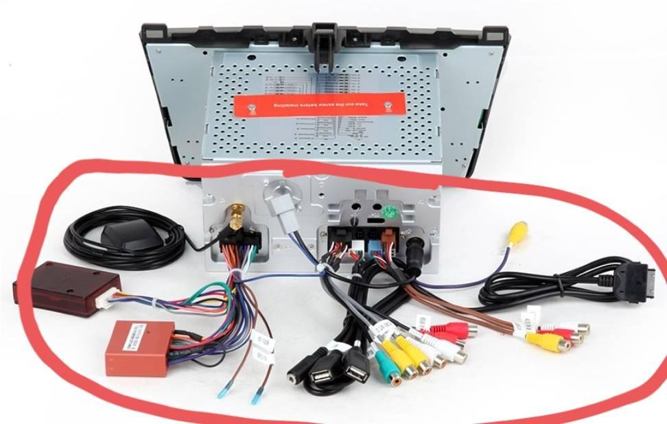 في Canbus و الطاقة كابل GPS RCA راديو لمازدا سيارة الوسائط المتعددة DVD لاعب