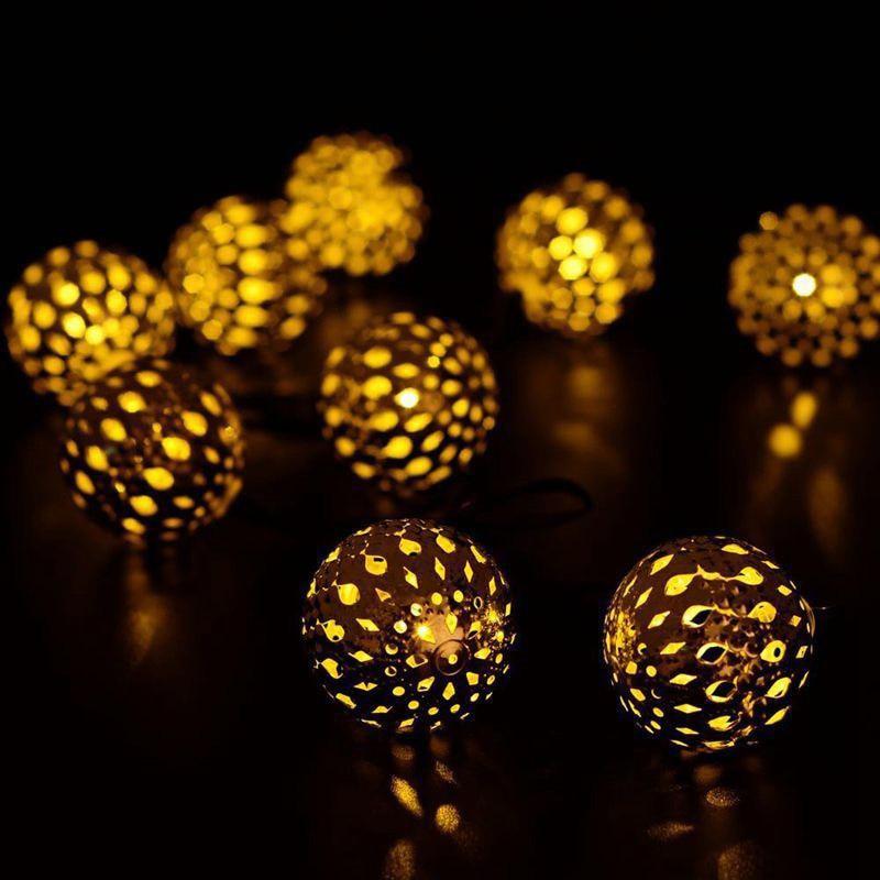 Tira de Luces LED hueca para decoración de fiestas, tira de Luces...