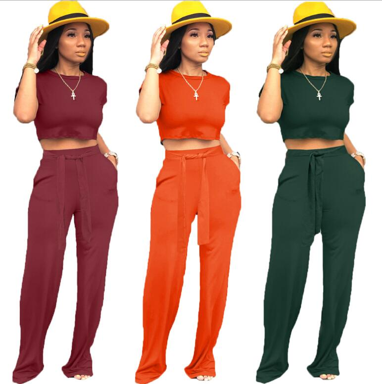 2019 women summer patchwork tank tee top skinny pencil pants suit 2pcs set sporting tracksuit active wear outfit 3 color m6161 women summer Casual Sportwear sleeve short tee top skinny pencil pants suits two piece set sporty tracksuit 3 color summer beach