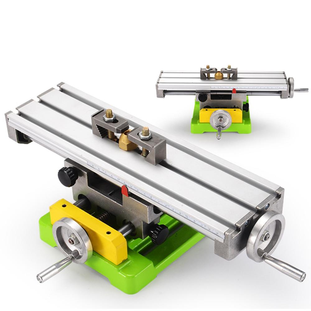 ALLSOME MINIQ BG6350 Multifunction Drill Vise Fixture Working Table Mini Precision Milling Machine Worktable enlarge