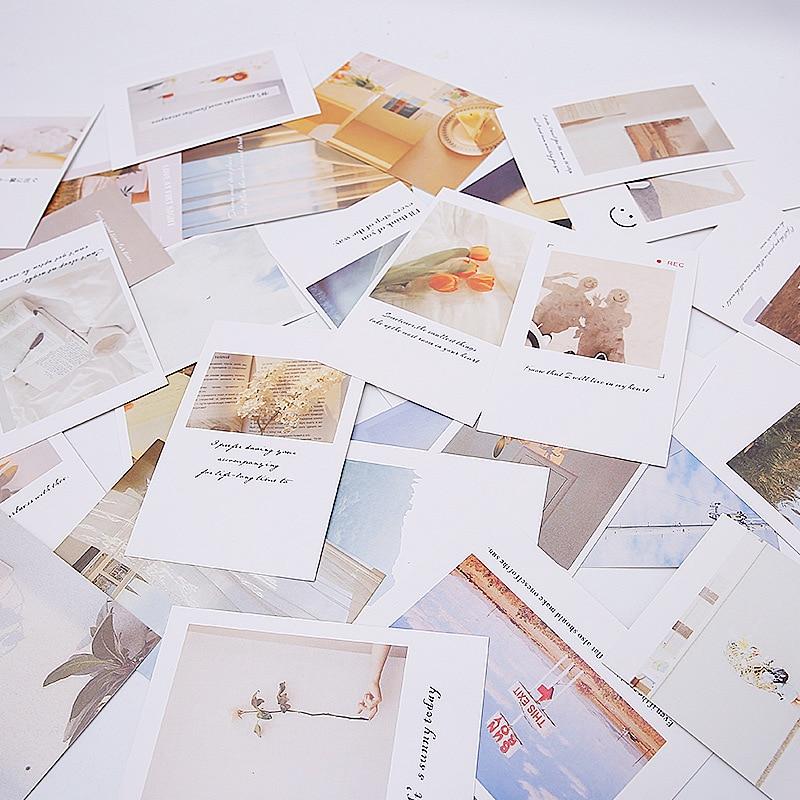 30 листов/упаковка, декоративные фотоальбомы в Корейском стиле