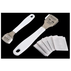 Dry Hard Skin Remover Foot Callus Shaver Corn Cutter Tool Pedicure+10 Blades Shaving Blades Hot Sale