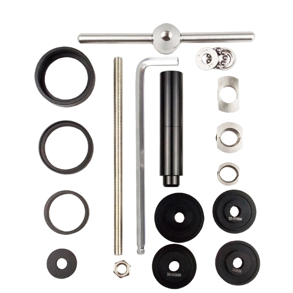 Kit de herramientas de extracción de fondo para bicicleta, suministro Personal para instalación estática en exteriores para BB86/BB30/BB92/PF30