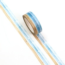 New 1PC 15mm*10m Sailing at sea Holiday Decorative Washi Tape Scrapbooking Masking Tape Office Suppl