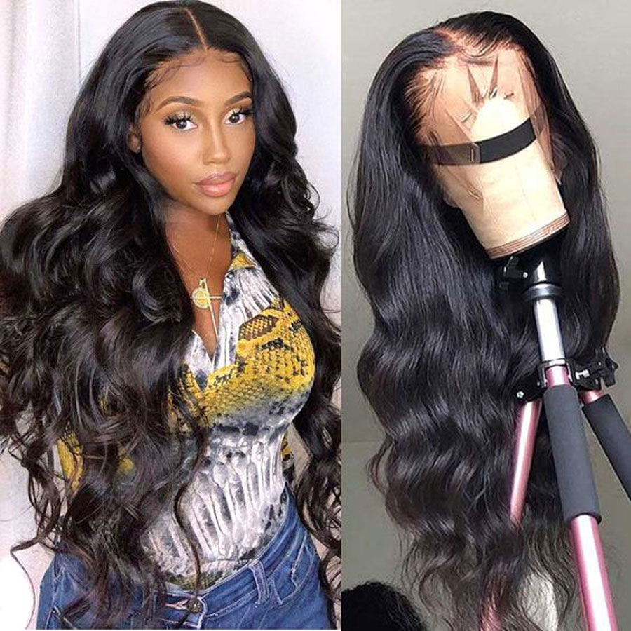 30 Inch Body Wave Lace Front Human Hair Wigs 250% Density Brazilian 13x6 HD Lace Frontal Wig PrePlucked 4x4 5x5 Lace Closure Wig