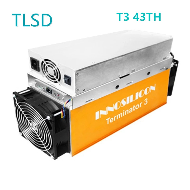 TLSD تستخدم Innosilicon T3 43TH جهاز تعدين بيتكوين