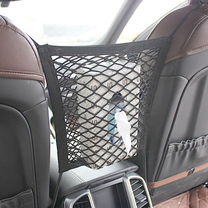 2020 nuevo gancho de almacenamiento de la bolsa de asiento de coche de red para Suzuki SX4 SWIFT Alto Liane/Grand Vitara/Jimny/cruss/salpicaduras/kizkashi