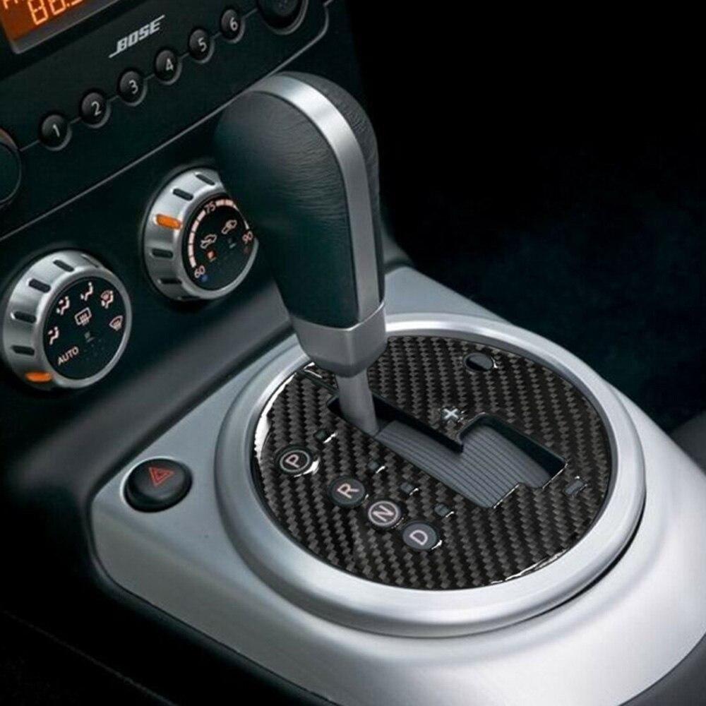 Panel de fibra de carbono embellecedor de marco de coche para engranaje Interior Nissan 350Z 2006-09